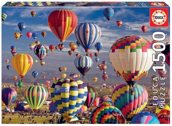 Heissluftballons Puzzle (1500 Teile)