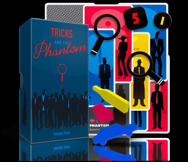 TRICKS AND THE PHANTOM (DEUTSCH)