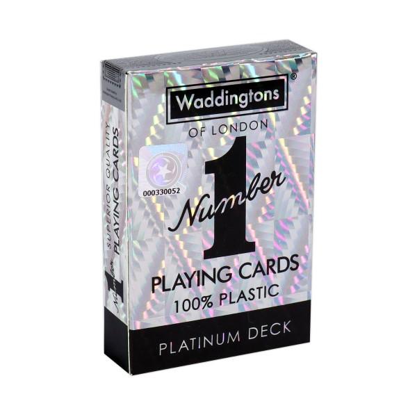Number 1 Spielkarten Platinum Deck