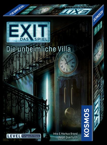 EXIT - Das Spiel: Die unheimliche Villa Level: Fortgeschrittene