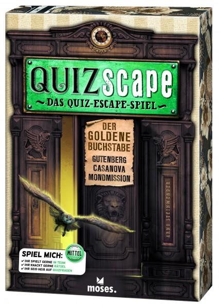 QUIZscape – Der goldene Buchstabe