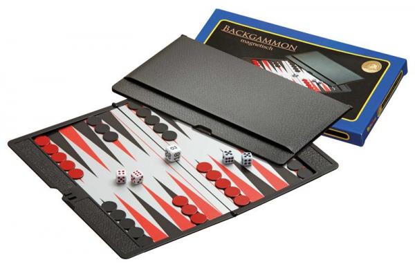 Backgammon, Reisespiel, magnetisch