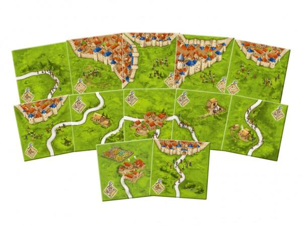 Carcassonne: Die Bauernaufstände - Mini-Erweiterung (neue Edition) DE/EN