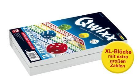 Qwixx XL - Ersatzblöcke (2er)