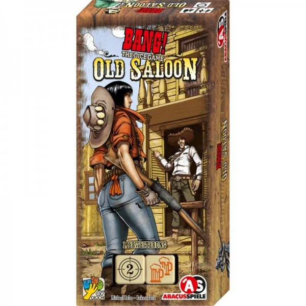 Bang! The Dice Game- Old Saloon - 1.Erweiterung