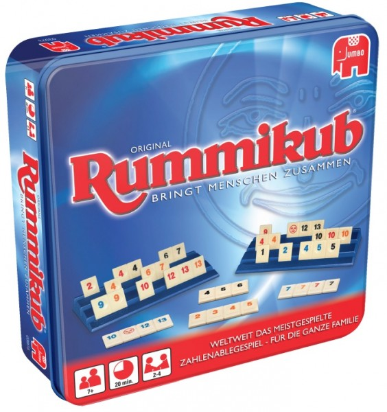Original Rummikub in Metalldose