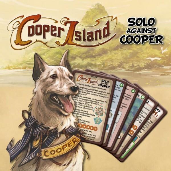 Cooper Island: Solo gegen Cooper (Mini-Erweiterung) - Frosted Games