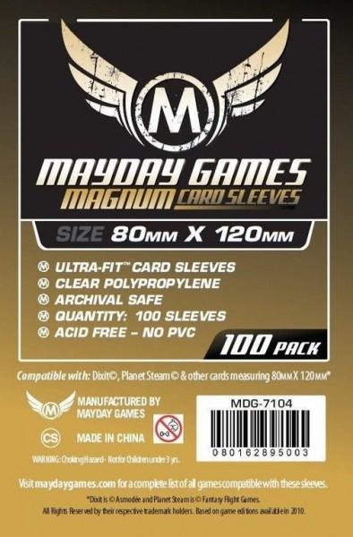 Kartenspiel-Hülle / Sleeves Magnum Gold Sleeve (100 Stück) 80x120mm