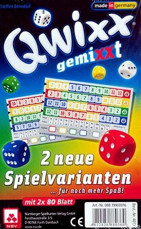 Qwixx - GemiXXt Zusatzblöcke (2er)