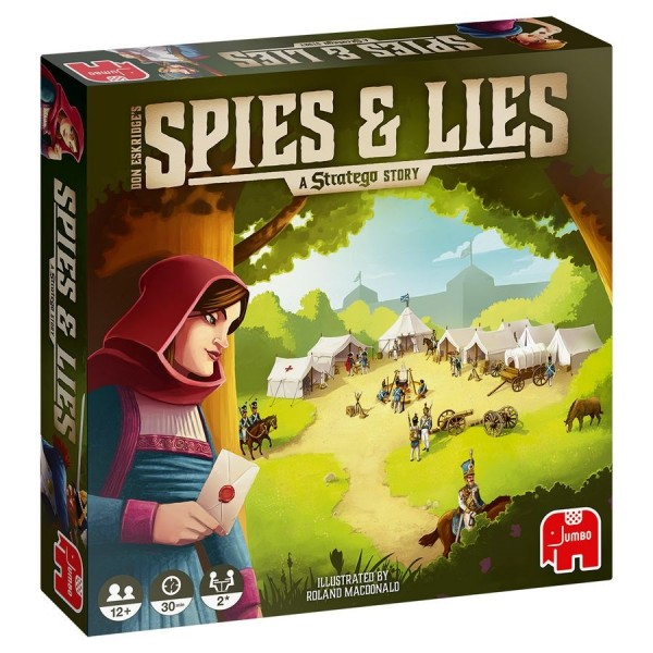 Spies & Lies – A Stratego Story (D,NL,F,GB)
