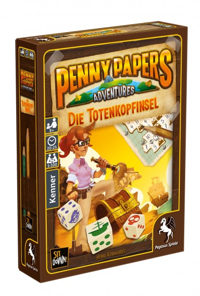 Penny Papers Adventures: Die Totenkopfinsel
