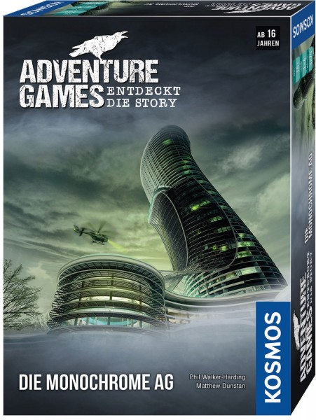 Adventure Games - Die Monochrome AG