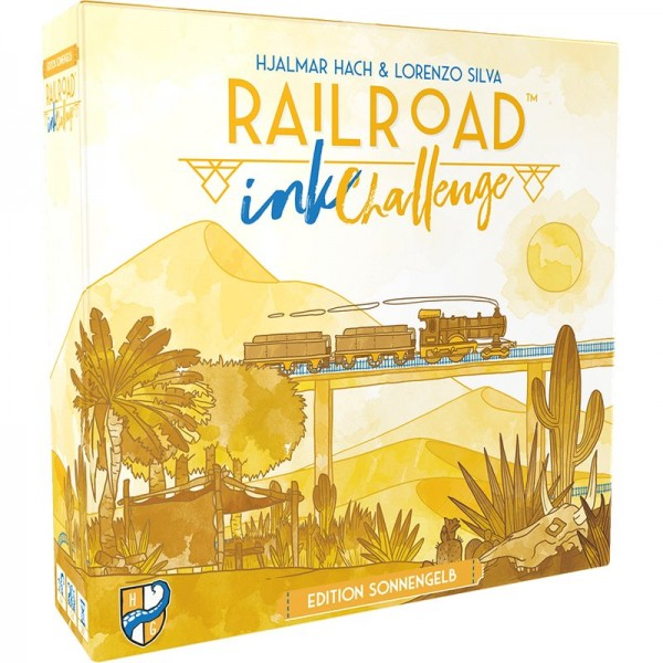 Railroad Ink Challenge: Edition Sonnengelb