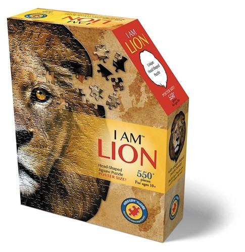 Konturpuzzle Löwe (550 Teile)