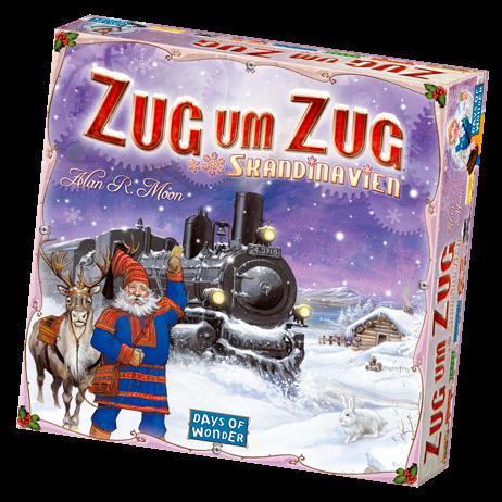 Zug um Zug - Skandinavien Grundspiel