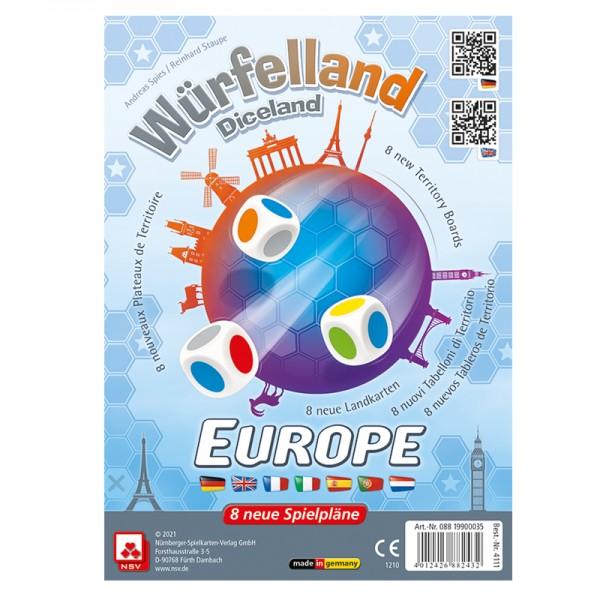 Würfelland - Europa (Zusatztableaus) - Erweiterung