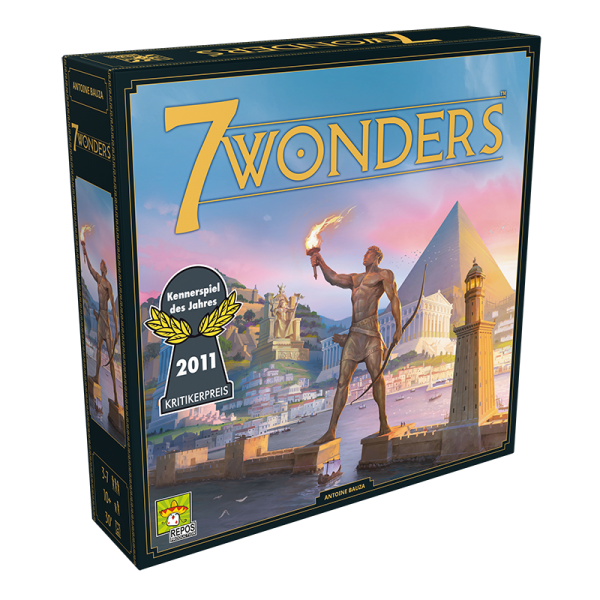 7 Wonders - Grundspiel (neues Design)