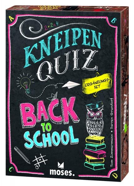 Kneipenquiz: Back to School