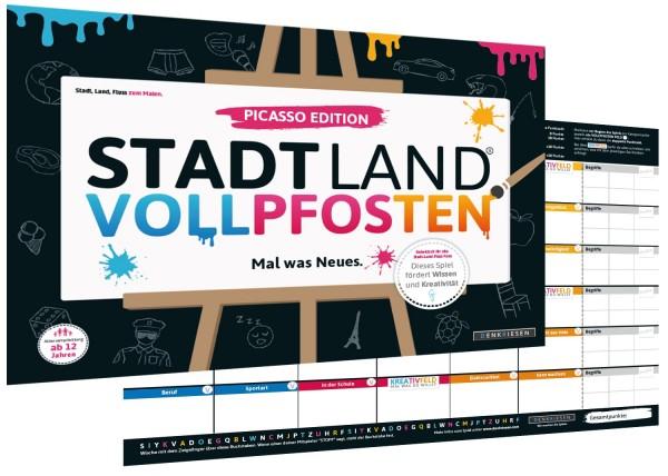STADT LAND VOLLPFOSTEN – PICASSO EDITION (DinA3-Format)