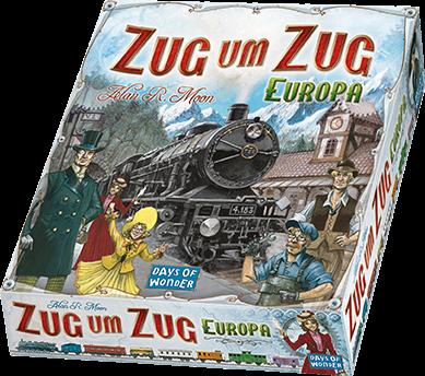 Zug um Zug - Europa Grundspiel