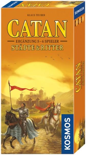 CATAN - Städte & Ritter - Ergänzung 5 - 6 Spieler