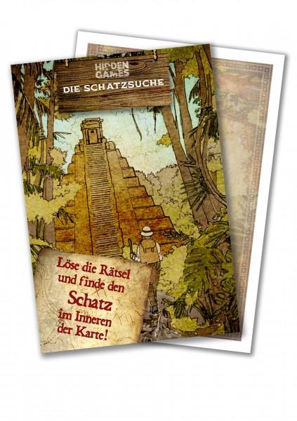 Hidden Games: Die Schatzsuche Rätselkarte