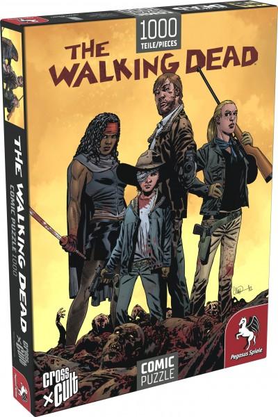 Puzzle: The Walking Dead (Die Zombiejäger), 1.000 Teile