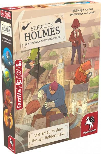 Sherlock Holmes - Die Nachwuchs-Investigatoren (Krimi-Comic-Spiel)