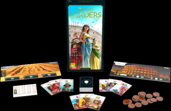 7 Wonders - Leaders (neues Design) - Erweiterung DE