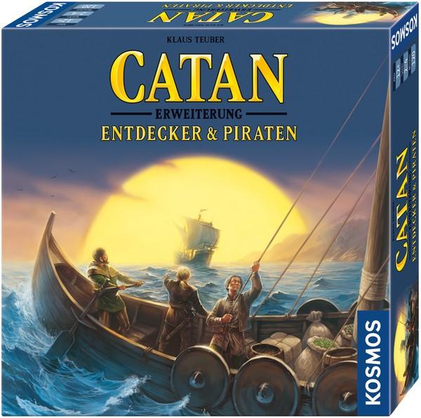 CATAN - Erweiterung - Entdecker & Piraten