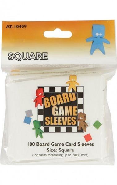 Kartenspiel-Hülle / Sleeves: Square (100 Stück, 70 x 70 mm)