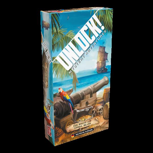 Unlock! - Der Schatz auf Tonipal Island - Einzelszenario DE