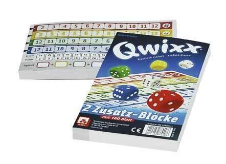 Qwixx - Ersatzblöcke (2er)