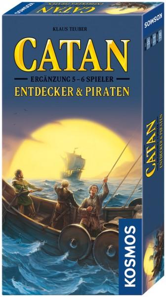 CATAN - Entdecker & Piraten-Ergänzung 5 - 6 Spieler