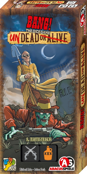 BANG! The Dice Game – Undead or Alive (2. Erweiterung)