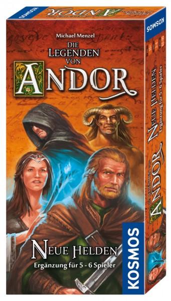Die Legenden von Andor - Neue Helden Ergänzung für 5 - 6 Spieler