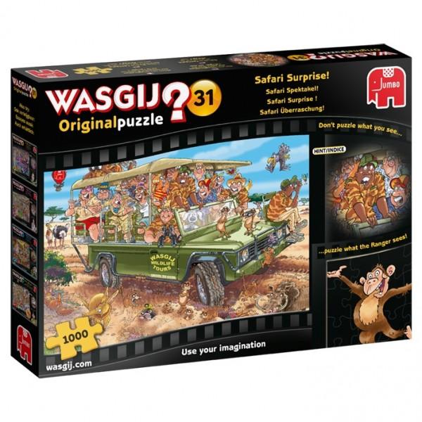 Wasgij Original 31: Safari Überraschung (1000 Teile)