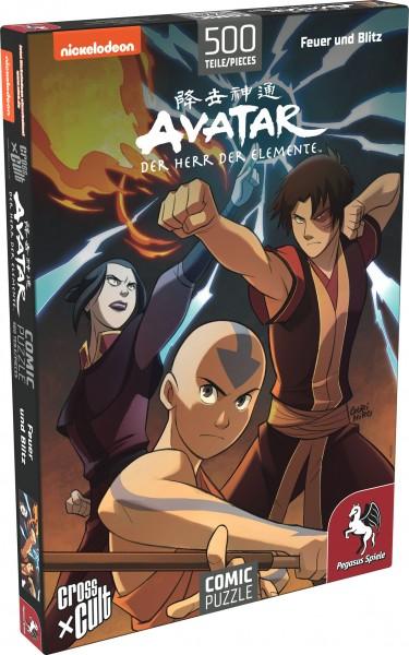 Puzzle: Avatar – Der Herr der Elemente (Team Avatar), 500 Teile