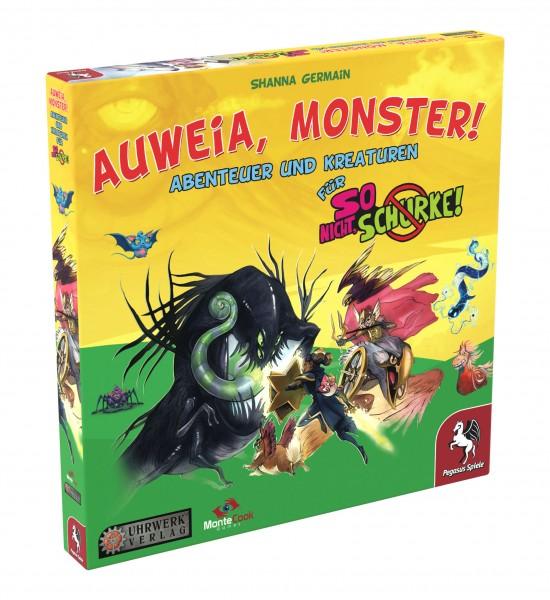 So nicht, Schurke! - Auweia, Monster! - Erweiterung