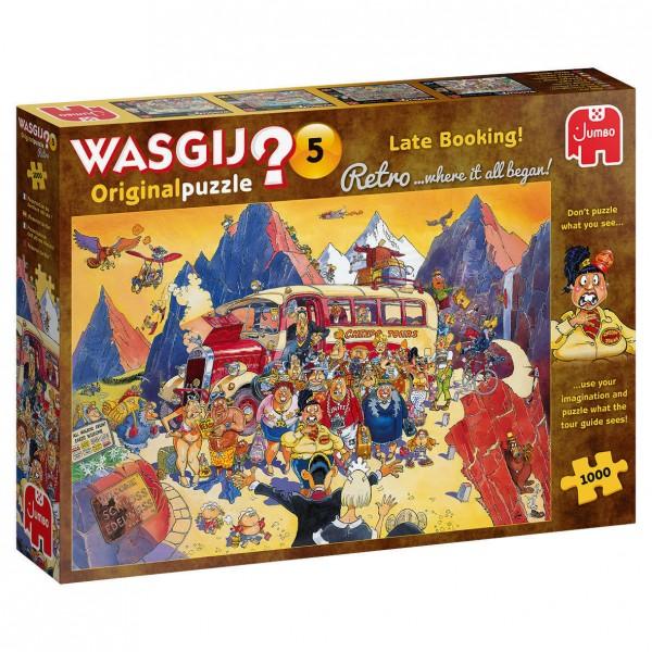 Wasgij Retro Orignal 5: Billigangebot gebucht! (1000 Teile)